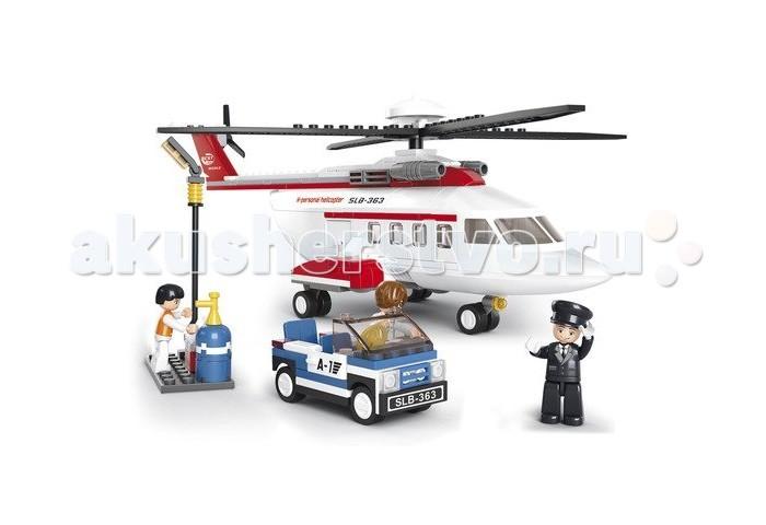 Конструктор Sluban Авиация Вертолет, машинка M38-B0363R (259 элементов)Авиация Вертолет, машинка M38-B0363R (259 элементов)Конструктор Sluban Авиация Вертолет, машинка M38-B0363R (259 элементов). Конструктор - отличная игрушка для детей любого возраста. Он учит быть усидчивым и концентрироваться на достижение цели, развивает пространственное и логическое мышление, дает ребенку возможность анализировать и проявить творческий подход.   Конструктор также помогает осваивать социальные роли, ребенок понимает, что, например, у людей и животных должен быть свой дом.   После того, как конструктор собран ребенок может примерить на себя любую роль в разных тематиках: бытовых, военных, исторических, фантастических.  Состоит из 259 деталей.<br>