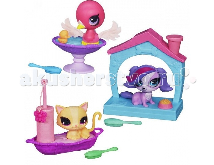 Hasbro Littlest Pet Shop �������� � ��������� ����� � ������������