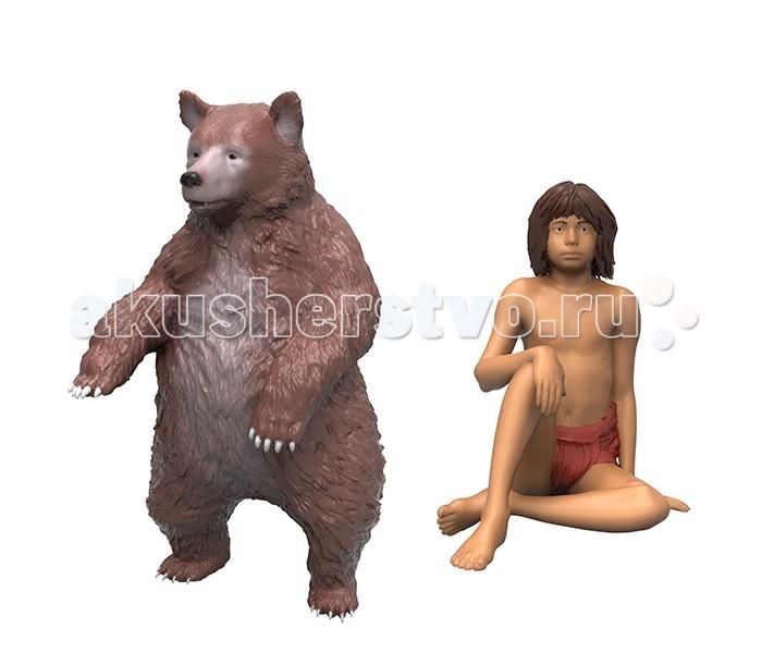 Disney Книга джунглей 2 фигурки в блистере Балу и МауглиКнига джунглей 2 фигурки в блистере Балу и МауглиКнига джунглей 2 фигурки в блистере Балу и Маугли. Они выполнены из высококачественного пластика и выглядят очень реалистично. У Балу подвижны лапы и голова, он может принимать различные позы - благодаря этому сюжетно-ролевая игра с фигурками становится еще более интересной и увлекательной. С такими игрушками ребенок сможет воспроизводить любимые сцены из фильма, либо придумывать собственные истории, что поможет ему развить воображение.  Игрушки упакованы в блистерную коробку, предусмотрена функция Try me.<br>