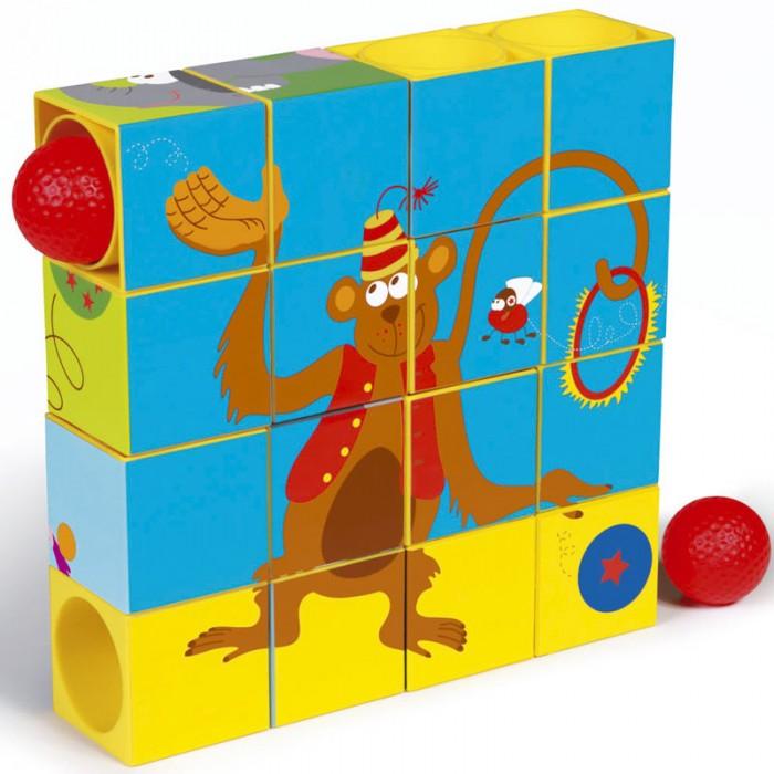 Деревянная игрушка Scratch   Пазл-трек ЦиркПазл-трек ЦиркScratch Пазл-трек Цирк.  При помощи этого пазла-трека ребёнок научится логически мыслить, концентрировать свое внимание, развивать глазомер.<br>