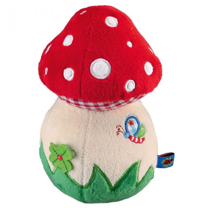 Мягкая игрушка Spiegelburg Гриб неваляшка Baby GluckГриб неваляшка Baby GluckSpiegelburg Гриб неваляшка Baby Gl&#252;ck.  Яркая неваляшка шрибочек Baby Gluck из плюша. Забавная игрушка для самых маленьких!<br>
