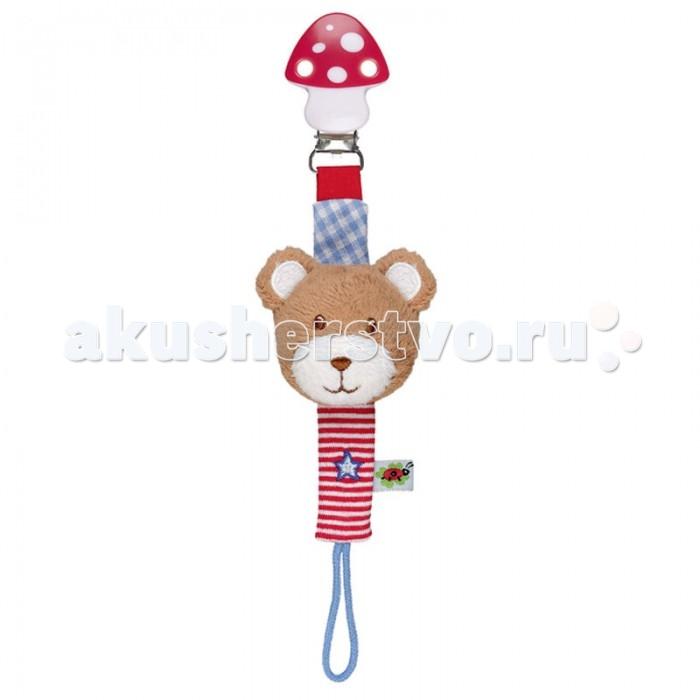 Spiegelburg Держатель для соски Мишка Baby Gluck от Акушерство