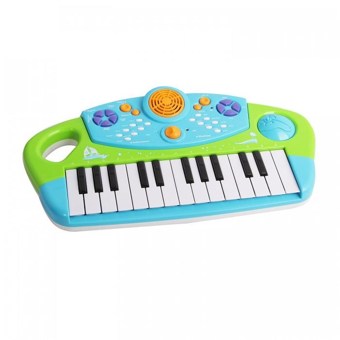Музыкальная игрушка Potex Синтезатор Summer Piano 25 клавиш 658ВСинтезатор Summer Piano 25 клавиш 658ВМузыкальная игрушка Potex Синтезатор Summer Piano 25 клавиш 658В. Для развития музыкального таланта и проявления творческих способностей, предлагаем вашему вниманию детский синтезатор, который имеет дополнительные мелодии и инструментальные звуки.   Компактный синтезатор не займет дома много места, поэтому его очень удобно использовать в качестве домашнего музыкального инструмента. Яркий синтезатор оснащен функцией записи и воспроизведения, а так же очень прост в использовании, в следствие чего Вашему ребенку не составит труда приобщиться к миру музыки, при этом обогатив внутренний мир.<br>