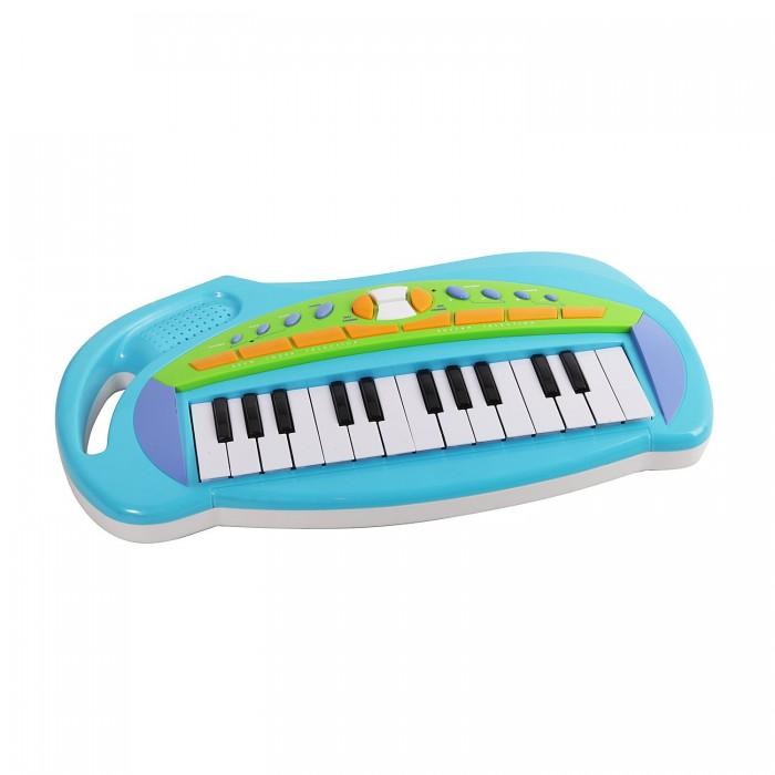 Музыкальная игрушка Potex Синтезатор Music Station 25 клавиш 652B-blueСинтезатор Music Station 25 клавиш 652B-blueМузыкальная игрушка Potex Синтезатор Music Station 25 клавиш 652B-blue. Для развития музыкального таланта и проявления творческих способностей, предлагаем вашему вниманию детский синтезатор, который имеет дополнительные мелодии и инструментальные звуки.   Компактный синтезатор не займет дома много места, поэтому его очень удобно использовать в качестве домашнего музыкального инструмента. Яркий синтезатор оснащен функцией записи и воспроизведения, а так же очень прост в использовании, в следствие чего Вашему ребенку не составит труда приобщиться к миру музыки, при этом обогатив внутренний мир.<br>