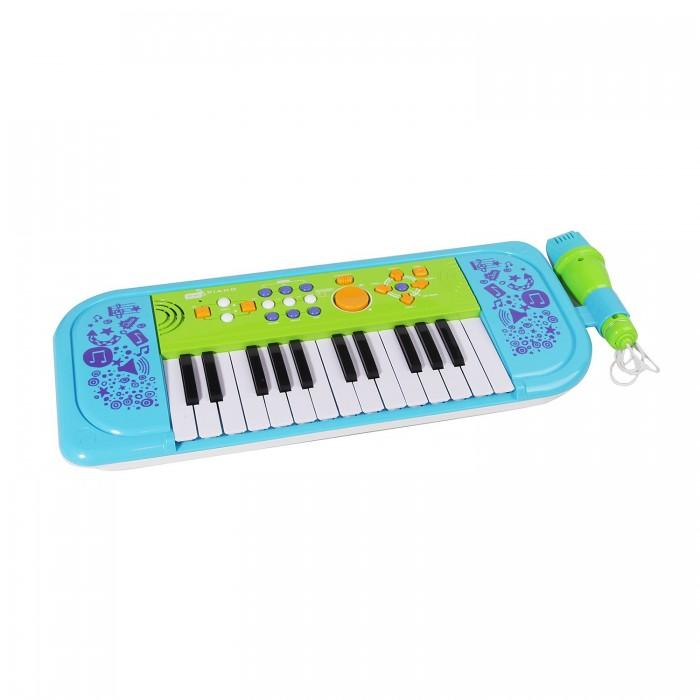 Музыкальная игрушка Potex Синтезатор Sing-Along Piano 25 клавиш 539A-blue