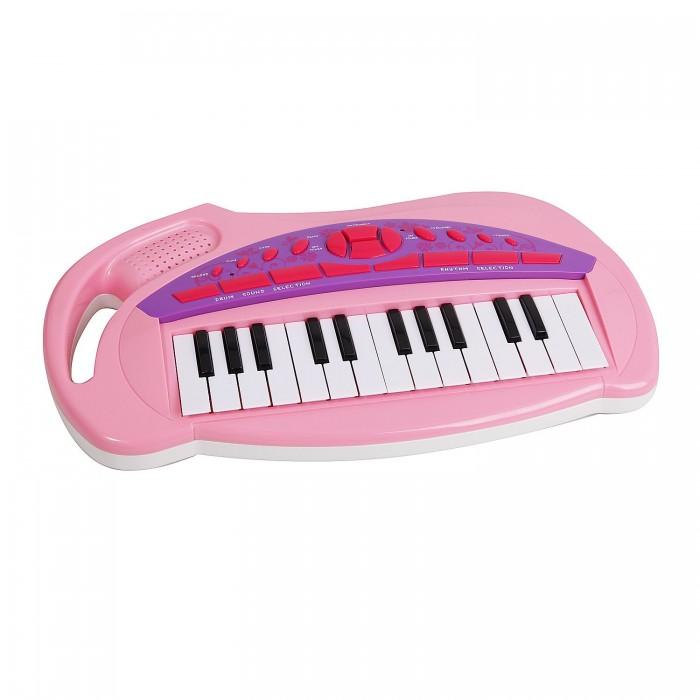 Музыкальная игрушка Potex Синтезатор Starz Piano 25 клавиш 652B-pinkСинтезатор Starz Piano 25 клавиш 652B-pinkМузыкальная игрушка Potex Синтезатор Starz Piano 25 клавиш 652B-pink. Для развития музыкального таланта и проявления творческих способностей, предлагаем вашему вниманию детский синтезатор, который имеет дополнительные мелодии и инструментальные звуки.   Компактный синтезатор не займет дома много места, поэтому его очень удобно использовать в качестве домашнего музыкального инструмента. Яркий синтезатор оснащен функцией записи и воспроизведения, а так же очень прост в использовании, в следствие чего Вашему ребенку не составит труда приобщиться к миру музыки, при этом обогатив внутренний мир.<br>