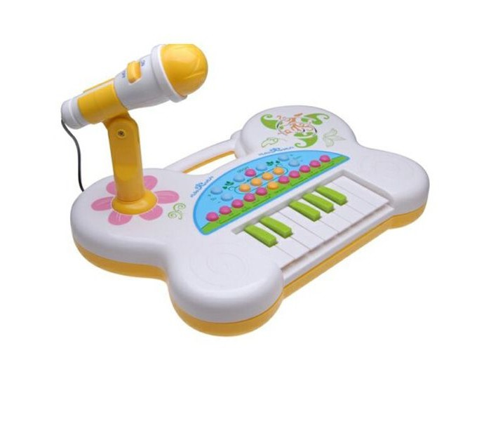 Музыкальная игрушка Potex Синтезатор Singing piano 13 клавиш 507BСинтезатор Singing piano 13 клавиш 507BМузыкальная игрушка Potex Синтезатор Singing piano 13 клавиш 507B. Для развития музыкального таланта и проявления творческих способностей, предлагаем вашему вниманию детский синтезатор, который имеет дополнительные мелодии и инструментальные звуки.   Компактный синтезатор не займет дома много места, поэтому его очень удобно использовать в качестве домашнего музыкального инструмента. Яркий синтезатор оснащен функцией записи и воспроизведения, а так же очень прост в использовании, в следствие чего Вашему ребенку не составит труда приобщиться к миру музыки, при этом обогатив внутренний мир.<br>