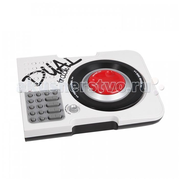 Музыкальная игрушка Potex Скрэтчер DJ Mixer на батарейках 520BСкрэтчер DJ Mixer на батарейках 520BМузыкальная игрушка Potex Скрэтчер DJ Mixer на батарейках 520B. С помощью компактного Скрэтчер, теперь можно крутить виниловые пластинки взад-вперёд руками для того, чтобы смешать музыкальные темы, как настоящий DJ.   Компактный размер, позволяет юному DJ создать свой музыкальный микс и предоставить на всеобщее обозрение.<br>