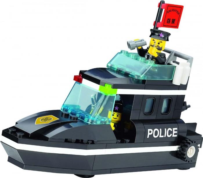 ����������� Enlighten Brick Police Speedboat 130 (95 ���������)