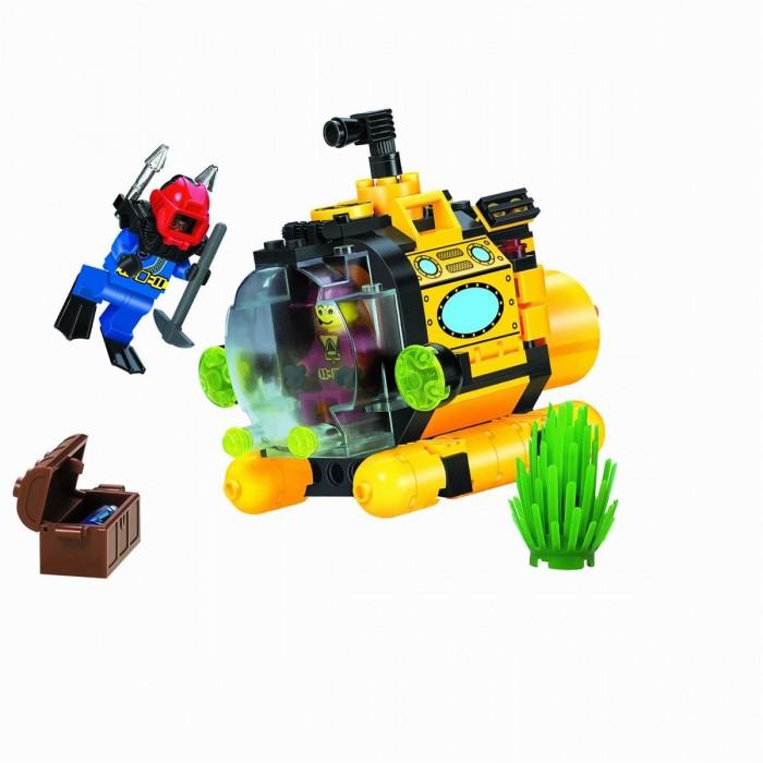 Конструктор Enlighten Brick Батискаф 1213 (122 элемента)Батискаф 1213 (122 элемента)Конструктор Enlighten Brick Батискаф 1213 (122 элемента). Дети любят все делать самостоятельно, так они познают мир, поэтому играть игрушкой, которую они собрали своими руками, особенно приятно. Яркие элементы придутся по вкусу вашему ребенку.   В наборе 122 детали.  Конструкторы Brick (Брик), произведенные шанхайской компанией Enlighten, не уступают по качеству Lego и Mega Bloks Детали изготовлены из высококачественной пластмассы, надежно скрепляются между собой и не разваливаются сами по себе, но при необходимости разбираются без особого труда.<br>