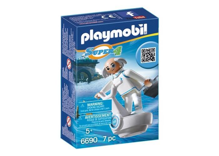 Конструктор Playmobil Супер4: Доктор ИксСупер4: Доктор ИксКонструктор Playmobil Супер4: Доктор Икс  Как всегда Доктор Икс спешит делать новые открытия. В чемодане, входящем в комплект, возможно хранятся бумаги с описанием новых гаджетов. Играя с данным набором, ребенок может смело представлять какие интересные и фантастические открытия ждут Доктора Икс.  В наборе: фигурка Долктор Икс летающий скутер чемодан<br>