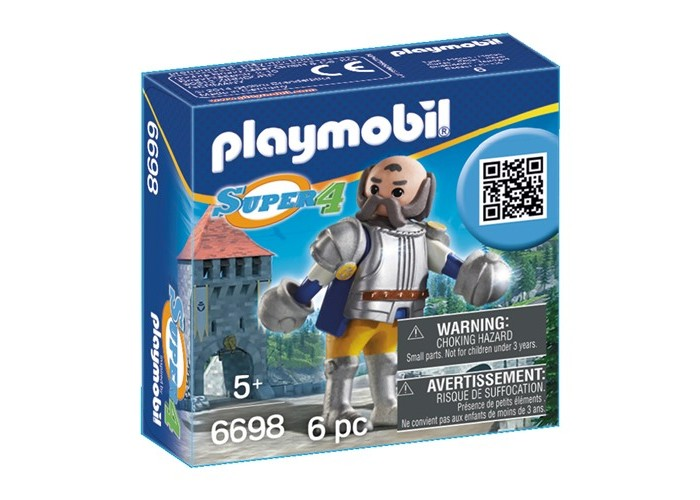 Конструктор Playmobil Супер4: Королевский страж Сэра УльфаСупер4: Королевский страж Сэра УльфаКонструктор Playmobil Супер4: Королевский страж Сэра Ульфа  представляет собой набор деталей конструктора, из которого необходимо собрать фигуру королевского стража. В наборе небольшое количество деталей, поэтому собрать фигуру для ребенка будет не сложно. Детали реалистичны по своему дизайну и цвету, а также легко скрепляются между собой. Ребенок сконструирует фигуру и сможет играть ею как игрушкой.  В наборе: фигурка стража<br>