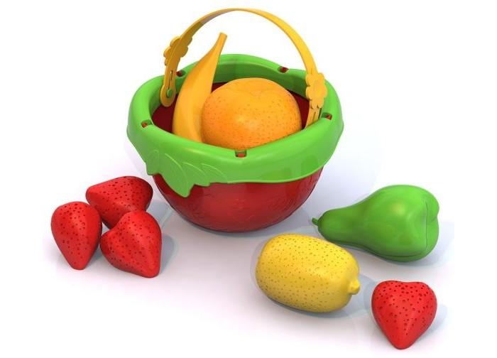 Нордпласт Набор Фрукты в ведеркеНабор Фрукты в ведеркеНордпласт Набор Фрукты в ведерке 441  В этом наборе есть все для украшения стола, а именно ведерко свежих и сочных фруктов. Здесь есть три аппетитные клубнички, банан, апельсин, лимон и прекрасная груша. С помощью набора можно познакомить ребенка с азами логики и математики, а также научить разбираться в цветах. Каждый элемент набора изготовлен из яркого высококачественного пластика.<br>