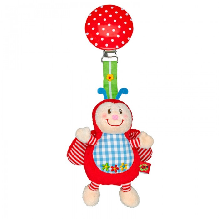 Подвесная игрушка Spiegelburg Божья коровка Baby Gluck