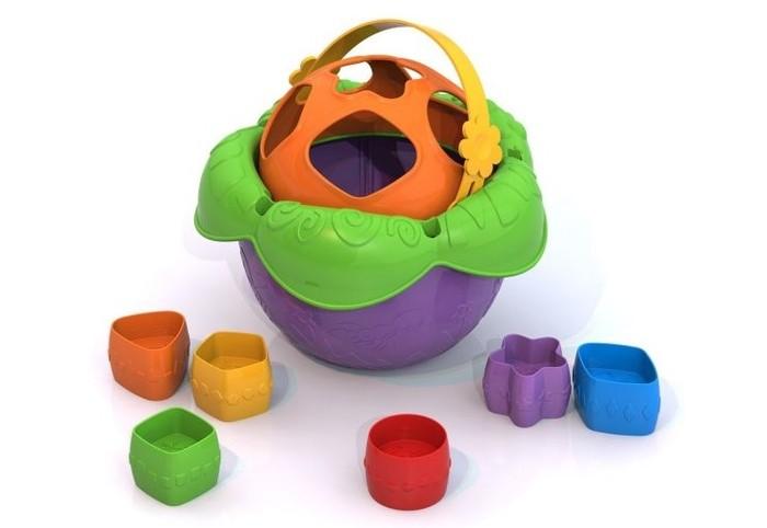 Сортер Нордпласт Логическая игрушка Ведро ЦветочекЛогическая игрушка Ведро ЦветочекНордпласт Логическая игрушка Ведро Цветочек 790  Сортеры, или как их еще называют, сортировщики помогут ребенку научится классифицировать предметы по различным признакам. Помимо этого, ребенок сможет познакомиться с понятиями больше-меньше, а также с основными цветами и формами. Непосредственно эта игрушка сделана в форме цветочка с особыми отверстиями, куда нужно вставлять специальные фигурки. Каждая деталь комплекта сделана из высококачественного пластика.<br>