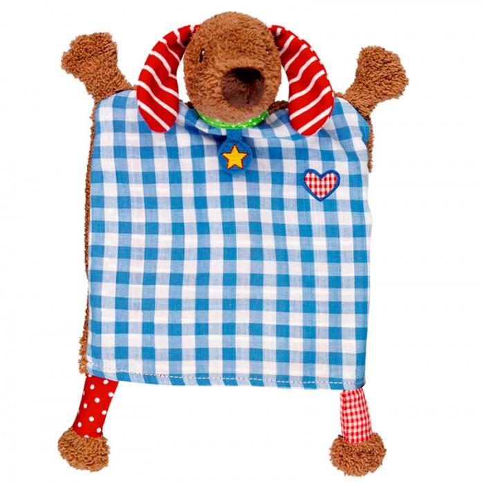 Мягкая игрушка Spiegelburg Ручная кукла Такса Baby GluckРучная кукла Такса Baby GluckSpiegelburg Ручная кукла Такса Baby Gluck.  Ручная кукла Такса Baby Gluck обязательно привлечет внимание ребенка. Кукла выполнена из ткани в виде коричневой собачки. Одевая ее на руку, можно играть с ребенком, когда тот лежит в коляске или кроватке. Малышам будет очень интересно играть с этой куклой. А когда они подрастут, смогут играть сами!  Немецкая компания Spiegelburg специализируется на детских товарах уже более 20 лет, это гарантирует высочайшее качество продукции и соответствие европейским стандартам.<br>