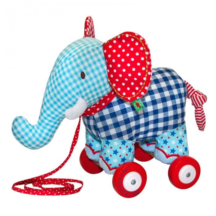 Каталка-игрушка Spiegelburg Слоненок Baby GluckСлоненок Baby GluckSpiegelburg Слоненок-каталка Baby Gluck.  Очаровательный слоненок-каталка Baby Gluck из хлопка для малышей. Яркой расцветки и приятный на ощупь, будет любимой игрушкой у ребенка.<br>