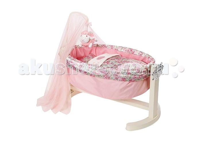 Кроватка для куклы Zapf Creation Бэби Аннабель колыбель с ночником