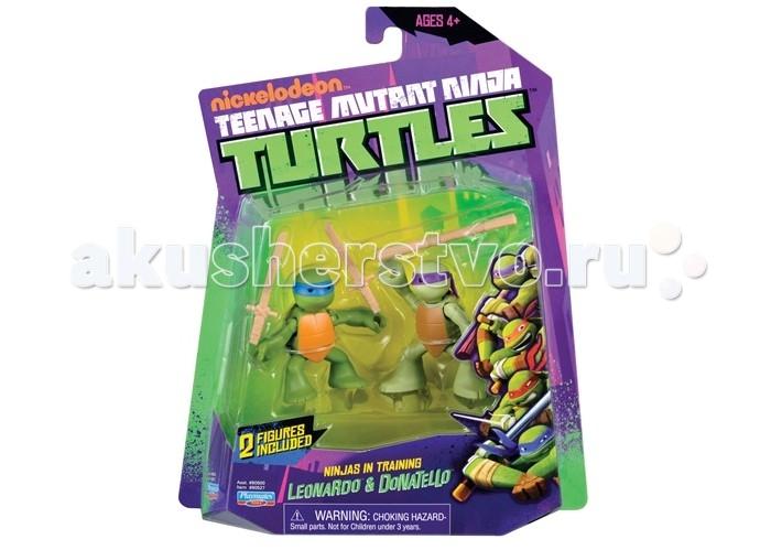 Turtles Фигурка Черепашки-ниндзя Лео и Дон юные мутанты