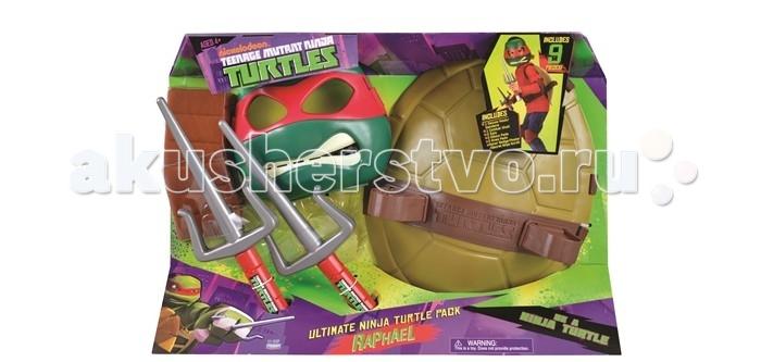 Turtles Полный набор боевого снаряжения Черепашки-ниндзя Рафаэль