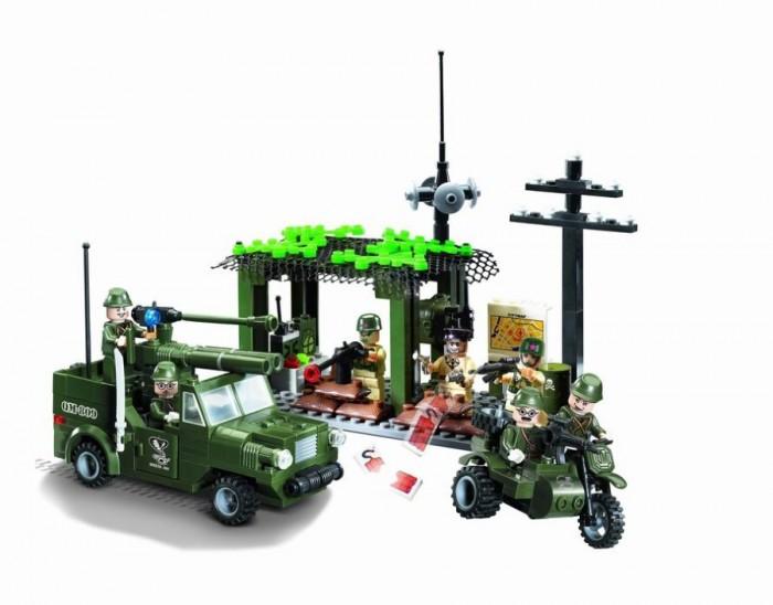 Конструктор Enlighten Brick Вооружённые силы 809 (285 элементов)Вооружённые силы 809 (285 элементов)Конструктор Enlighten Brick Вооружённые силы 809 (285 элементов). Конструктор - отличная игрушка для детей любого возраста. Он учит быть усидчивым и концентрироваться на достижение цели, развивает пространственное и логическое мышление, дает ребенку возможность анализировать и проявить творческий подход.  Конструктор также помогает осваивать социальные роли, ребенок понимает, что, например, у людей и животных должен быть свой дом. После того, как конструктор собран ребенок может примерить на себя любую роль в разных тематиках: бытовых, военных, исторических, фантастических.   Состоит из 285 деталей.<br>