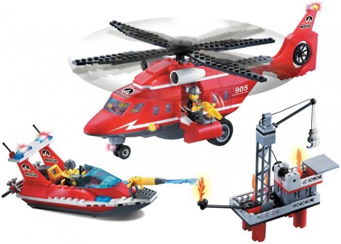 Конструктор Enlighten Brick Fire Rescue 905 (404 элемента)Fire Rescue 905 (404 элемента)Конструктор Enlighten Brick Fire Rescue 905 (404 элемента). Конструктор - отличная игрушка для детей любого возраста. Он учит быть усидчивым и концентрироваться на достижение цели, развивает пространственное и логическое мышление, дает ребенку возможность анализировать и проявить творческий подход.  Конструктор также помогает осваивать социальные роли, ребенок понимает, что, например, у людей и животных должен быть свой дом. После того, как конструктор собран ребенок может примерить на себя любую роль в разных тематиках: бытовых, военных, исторических, фантастических.   Состоит из 404 деталей.<br>