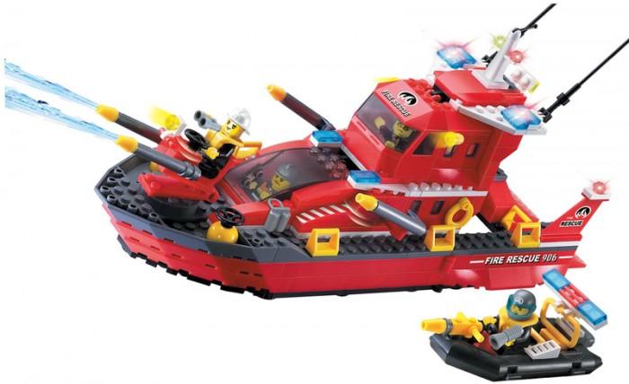 Конструктор Enlighten Brick Fire Rescue 906 (340 элементов)Fire Rescue 906 (340 элементов)Конструктор Enlighten Brick Fire Rescue 906 (340 элементов). Конструктор - отличная игрушка для детей любого возраста. Он учит быть усидчивым и концентрироваться на достижение цели, развивает пространственное и логическое мышление, дает ребенку возможность анализировать и проявить творческий подход.  Конструктор также помогает осваивать социальные роли, ребенок понимает, что, например, у людей и животных должен быть свой дом. После того, как конструктор собран ребенок может примерить на себя любую роль в разных тематиках: бытовых, военных, исторических, фантастических.   Состоит из 340 деталей.<br>