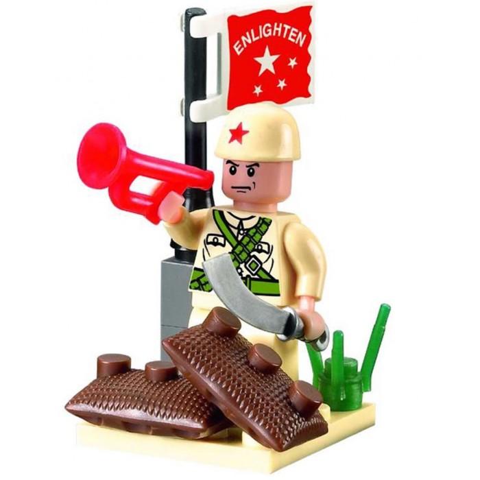 Конструктор Enlighten Brick Военный 807 (17 элементов)