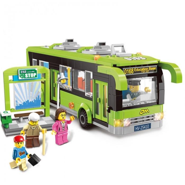 Конструктор Enlighten Brick Автобус 1121 (420 элементов)Автобус 1121 (420 элементов)Конструктор Enlighten Brick Автобус 1121 (420 элементов). Конструктор - отличная игрушка для детей любого возраста. Он учит быть усидчивым и концентрироваться на достижение цели, развивает пространственное и логическое мышление, дает ребенку возможность анализировать и проявить творческий подход.  Конструктор также помогает осваивать социальные роли, ребенок понимает, что, например, у людей и животных должен быть свой дом. После того, как конструктор собран ребенок может примерить на себя любую роль в разных тематиках: бытовых, военных, исторических, фантастических.   Состоит из 420 деталей.<br>