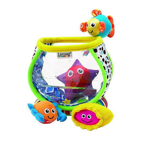 Развивающая игрушка Lamaze Рыбки