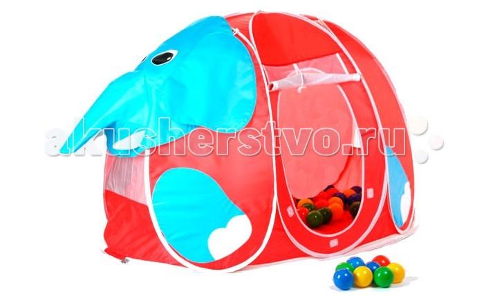 Палатки-домики Calida Дом-палатка + 100 шаров Слоник
