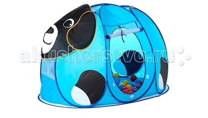 Палатки-домики Calida Дом-палатка + 100 шаров Собачка