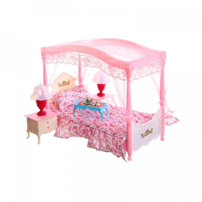 Gloria Набор мебели для кукол Кровать с балдахином 2314