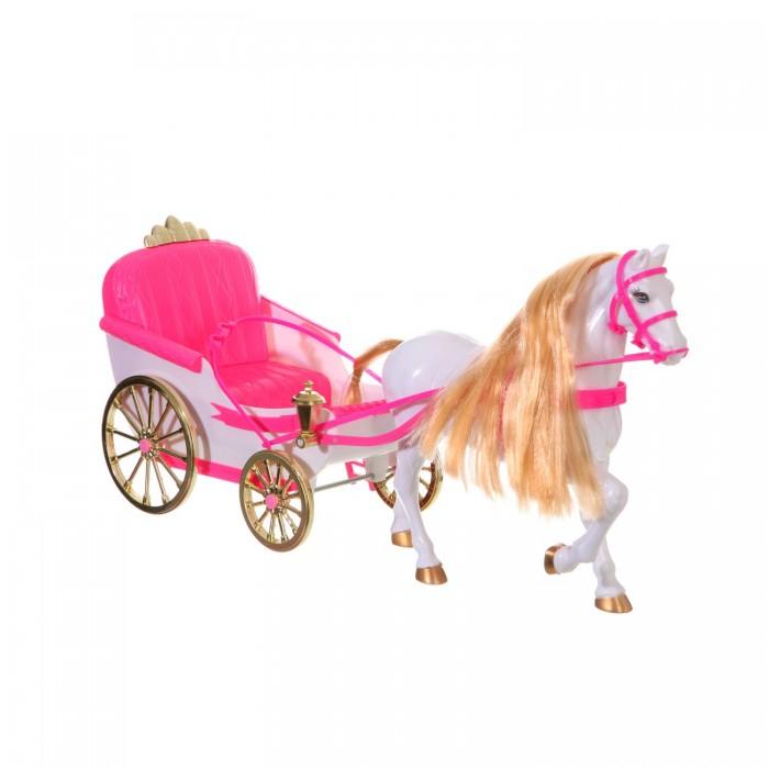 Gloria Набор игровой Карета с лошадью для куклы 22088Набор игровой Карета с лошадью для куклы 22088Gloria Набор игровой Карета с лошадью для куклы 22088. Шикарная карета с лошадью для любимых кукол! Игрушка, которую оценит любая девочка, любящая играть в куклы.   Теперь любимая кукла, как золушка сможет перемещаться в карете с красивой лошадкой!<br>