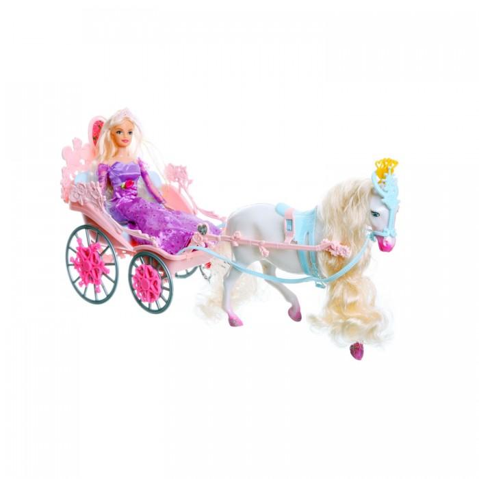 Jinni Кукла Золушка в карете 83063Кукла Золушка в карете 83063Jinni Кукла Золушка в карете 83063. Шикарная карета с лошадью для Золушки! Выбор, который оценит любая девочка, любящая играть в куклы. Теперь любимая кукла Золушка во время попадет на балл и встреча с принцем гарантированна!   В набор входит кукла, карета и лошадь.<br>