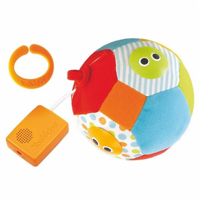 Мягкая игрушка Yookidoo Музыкальный мячМузыкальный мячИгрушка Yookidoo Музыкальный развивающий Мяч  со световым сопровождением.   Характеристики: Звуковые и световые эффекты мяча активируются в движение  При вращении или встряхивании загораются огоньки и звучат 3 разные мелодии Мяч привлекает внимание, побуждает ребенка двигаться, развивает слуховые и зрительные навыки Есть Включатель/Выключатель бесшумного режима.<br>