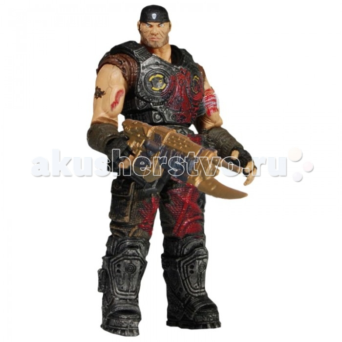 Neca Фигурка Gears of War 3 3/4 Series 1 Marcus Fenix Bloody Variant