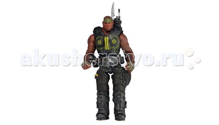Neca Фигурка Gears of War 3 3/4 Series 2 Augustus Cole