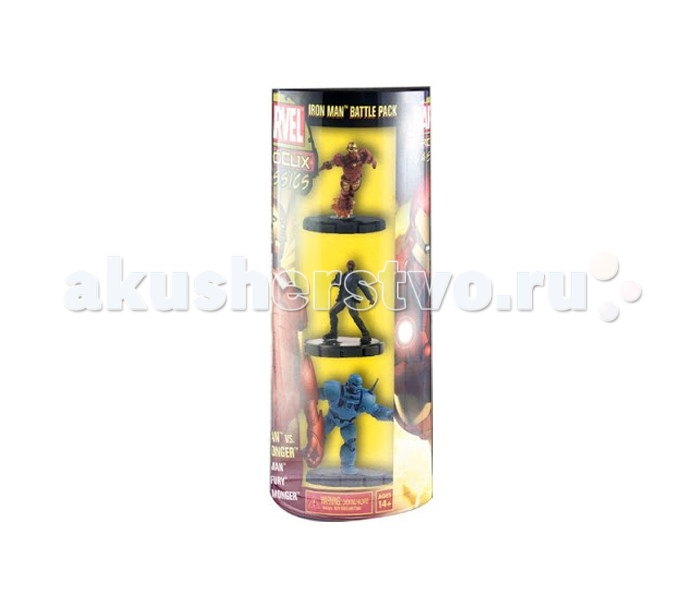 Neca ������� Heroclix Marvel Classics Ironman Vs Iron Monger (�������� �������)