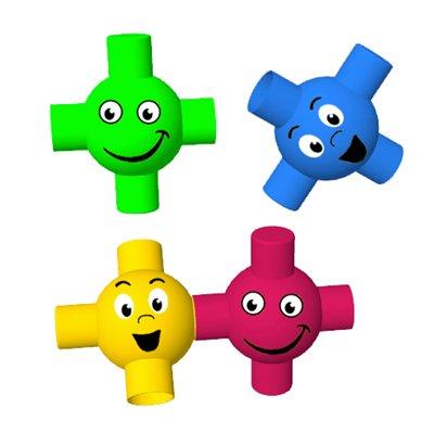 Развивающие игрушки Edushape Игрушечные крепления