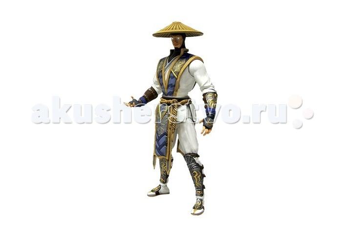 Neca Фигурка Mortal Kombat X Raiden 15 смФигурка Mortal Kombat X Raiden 15 смФигурка Mortal Kombat X Raiden 15 см создана по мотивам популярной мультиплатформенной компьютерной игры.  Рэйден, бог грома, является одним из самых сильных персонажей Mortal Kombat. Для обеспечения точного сходства с персонажем, при разработке скульптуры использовалась информация от разработчиков.  Фигурка имеет 23 точки артикуляции, частично с шаровыми шарнирами, что позволяет воссоздать все движения и позы из игры.  Поставляется в комплекте с шаровой молнией и двумя парами рук для воссоздания игровых моментов.<br>