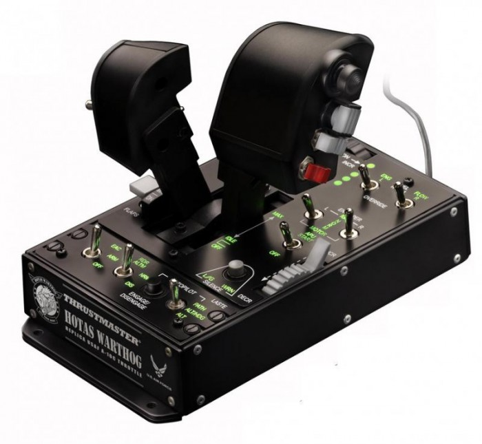 Thrustmaster Джойстик РУД Warthog Dual Throttle PC