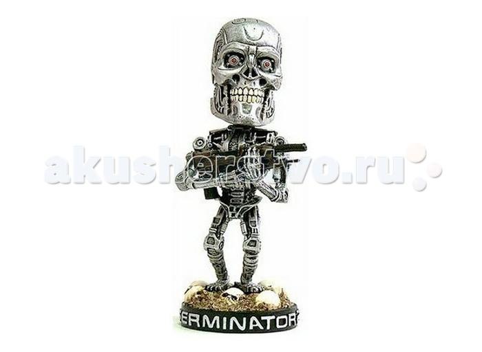 Neca Фигурка Terminator 2 (Треминатор 2) 7 дюймов Endoskeleton Head Knocker