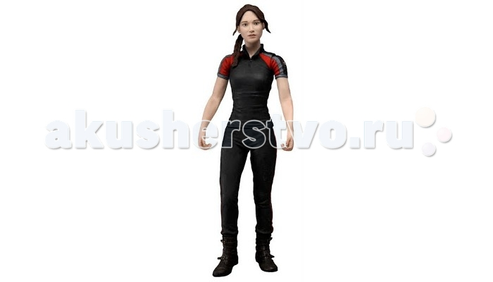 Neca ������� The Hunger Games (�������� ����) Series 2 Katniss In Training Outfit 7 ������