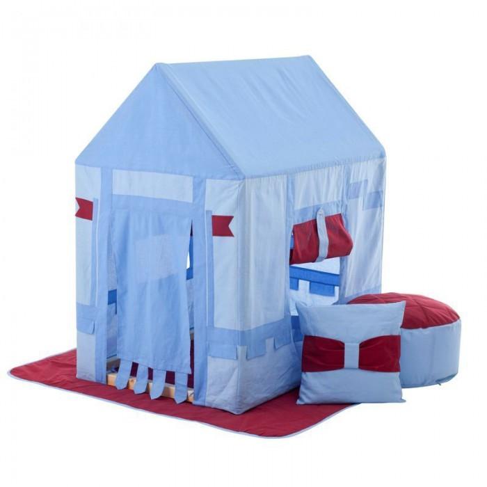 Paremo Текстильный домик с пуфиком Замок Бристоль