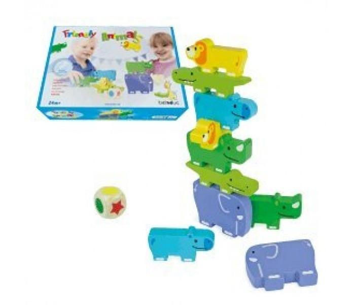 Деревянная игрушка Beleduc Развивающая Забавная компания