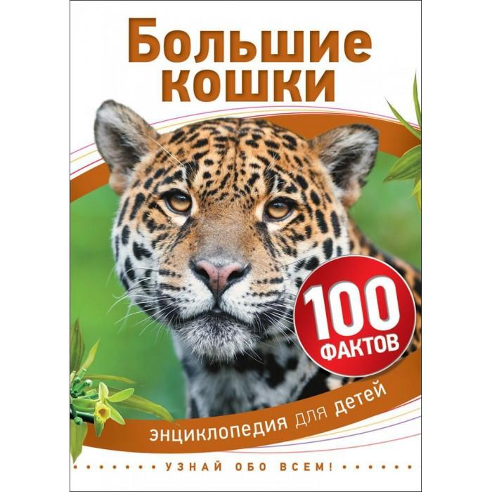 Росмэн Детская энциклопедия 100 фактов Большие кошки
