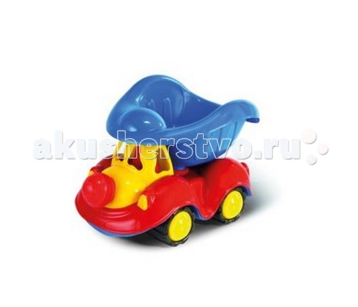 Hemar Автомобиль PajacykАвтомобиль PajacykАвто PAJACYK  немного напоминает клоуна и обязательно на долго привлечет внимание ребенка.  Забавная машинка, не имеющая острых углов, способных при неосторожном обращении нанести травму ребенку, изготовлена из экологичного пластика, безопасного для здоровья. Яркие, сочетающиеся между собой цвета машинки способствуют развитию цветовосприятия ребенка, а игры с ней развивают воображение, моторику и координацию.<br>