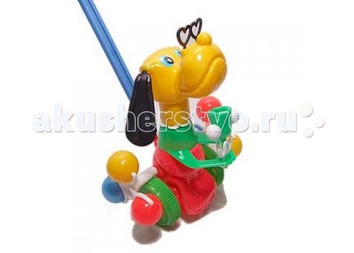 Каталка-игрушка Rabbit Песик со звонком