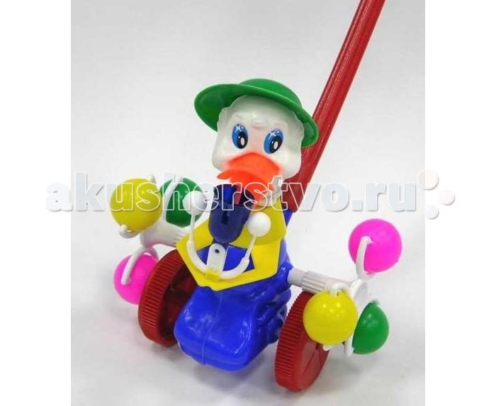 Каталка-игрушка Rabbit Утка со звонком